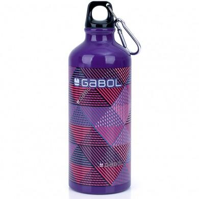 Метална бутилка за вода GABOL - Mix 600мл