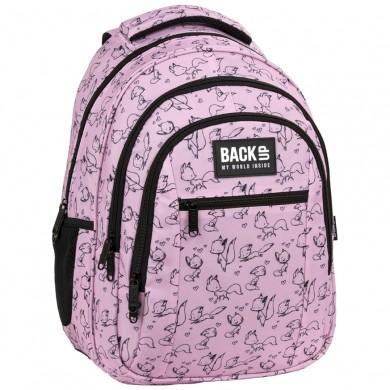 Раница BackUp - Pink Fox