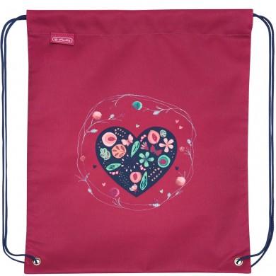 Спортна торба Herlitz - Hearts