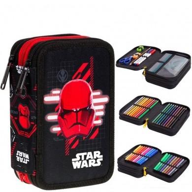 Зареден Несесер с 3 ципа CoolPack - Star Wars