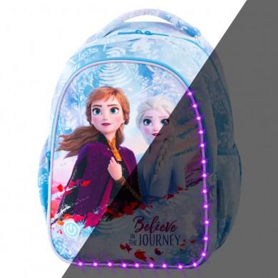 Светеща раница за 1 клас CoolPack Joy S LED - Frozen Light